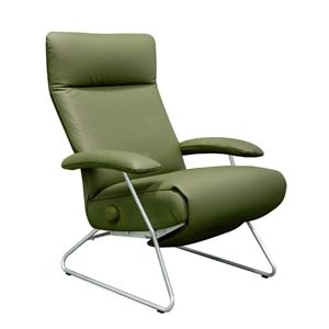 Lafer Demi Recliner | Leather Recliner