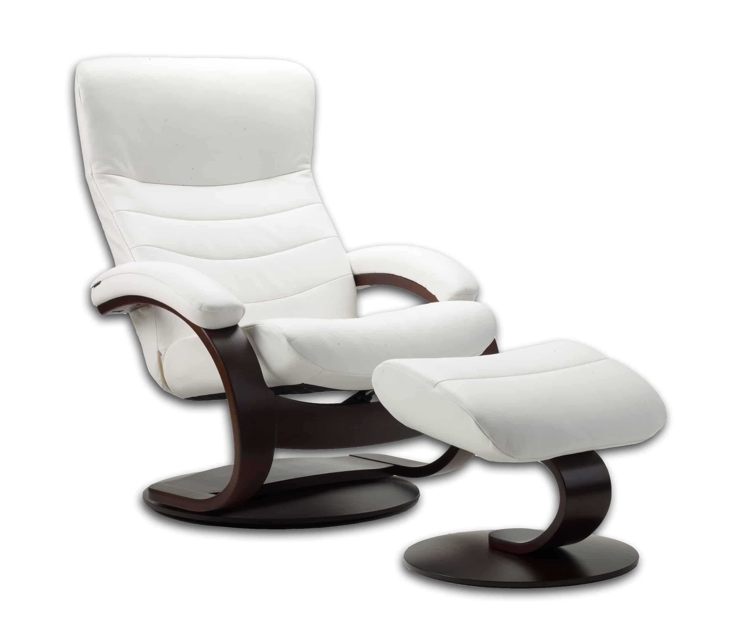Fjords Trandal Recliner - White  sc 1 st  Chair Land Furniture & Fjords Trandal Recliner | Chair Land Furniture islam-shia.org