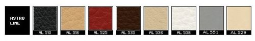 Fjords Astro Line Leather Colors
