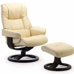 Fjords Loen 855R Leather Recliner
