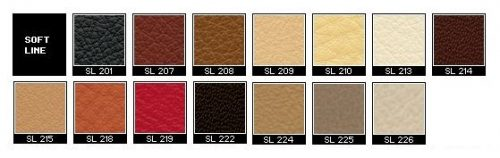 Fjords Soft Line Leather Colors