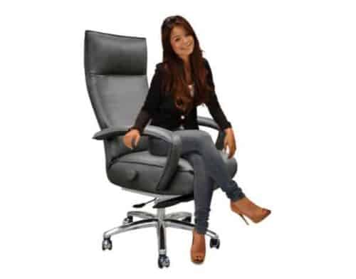 Gaga Executive Recliner - Upright| Chair Land Furniture Outlet