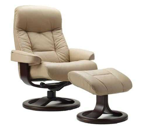Fjords Muldal leather recliner
