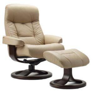 Fjords Muldal leather recliner