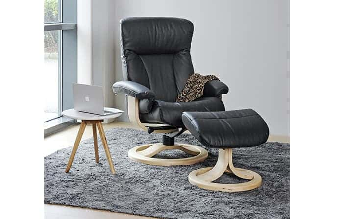 Fjords Scandic Leather Recliner