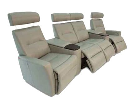 Fjords Madrid-Wall Saver-Cinema D Home Theater Sofa | Chair Land Furniture