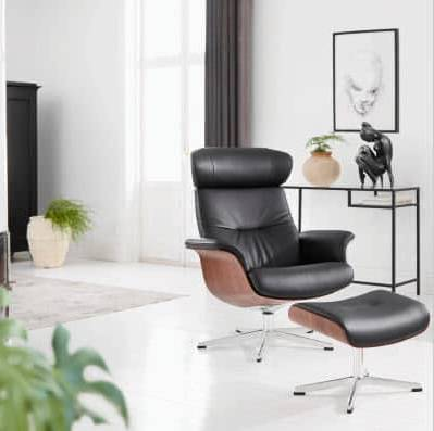 Conform Timeout Armchair with ottoman | Chair Land Furniture