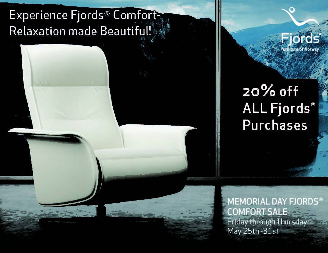 Memorial Day Sale - Fjords Recliners & Relaxers - Chair Land Furniture