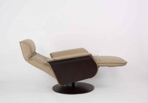 Han Recliner - Tan reclined