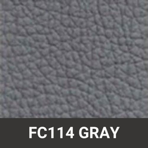 FC114 Gray Leather