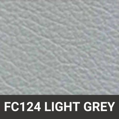 FC124 Light Grey Leather