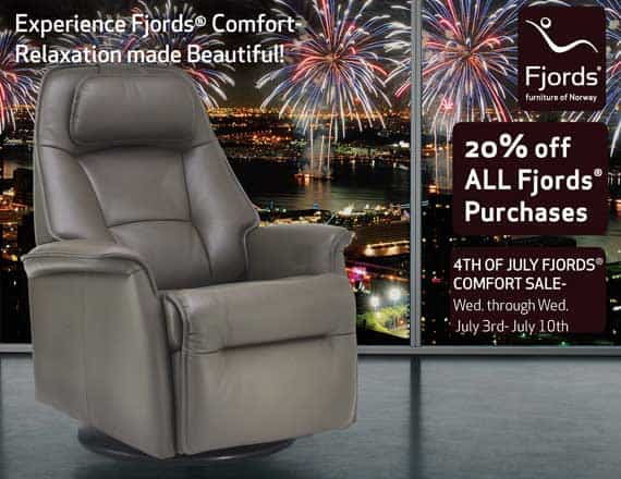 Fjord's Stockholm Leather Relaxer - 4th of July Sale