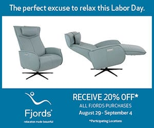 Fjords Labor Day Sale at Chair Land Furniture