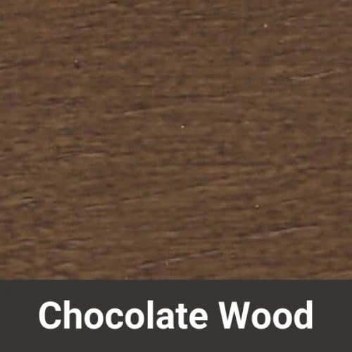 Fjords Chocolate Wood Finish - Chair Land Furniture Outlet