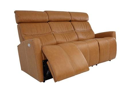 Milan Sofa 3 Seat - AL545 Vintage Cognac